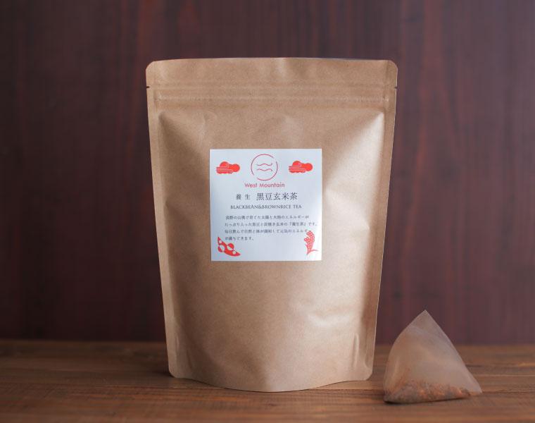 West Mountain養生黒豆玄米茶(シナモン風味)30パック入り