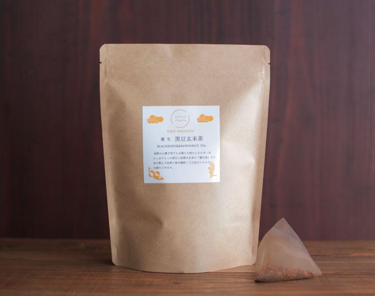 West Mountain養生黒豆玄米茶(プレーン)30パック入り