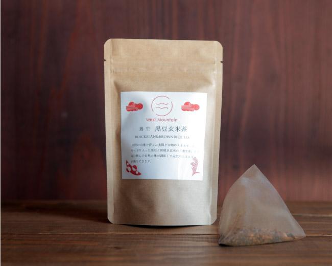 West Mountain養生黒豆玄米茶シナモン風味