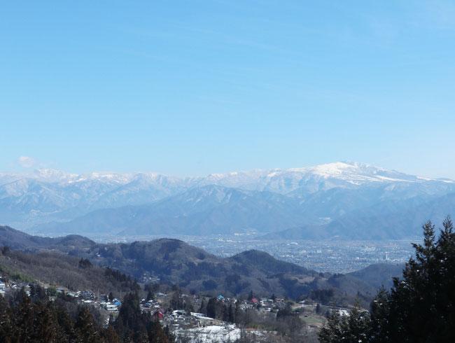 長野市の山間地西山地区